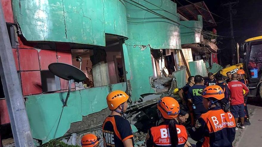 Al menos 270 réplicas del seísmo de 6,5 que sacudió el centro de Filipinas