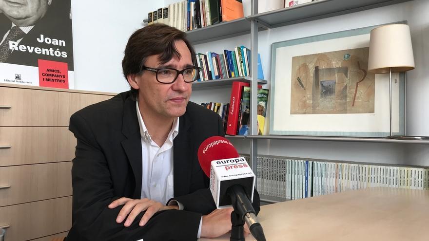 """El PSC descarta un pacto de Presupuestos si el Gobierno catalán no renuncia a la """"unilateralidad"""" hacia la independencia"""