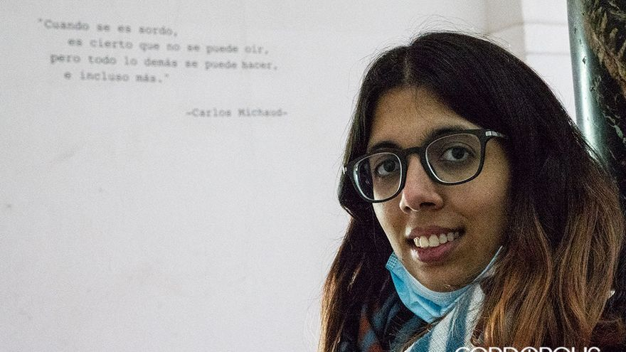 Lucía Espejo en la Facultad de Filosofía y letras de Córdoba | MADERO CUBERO