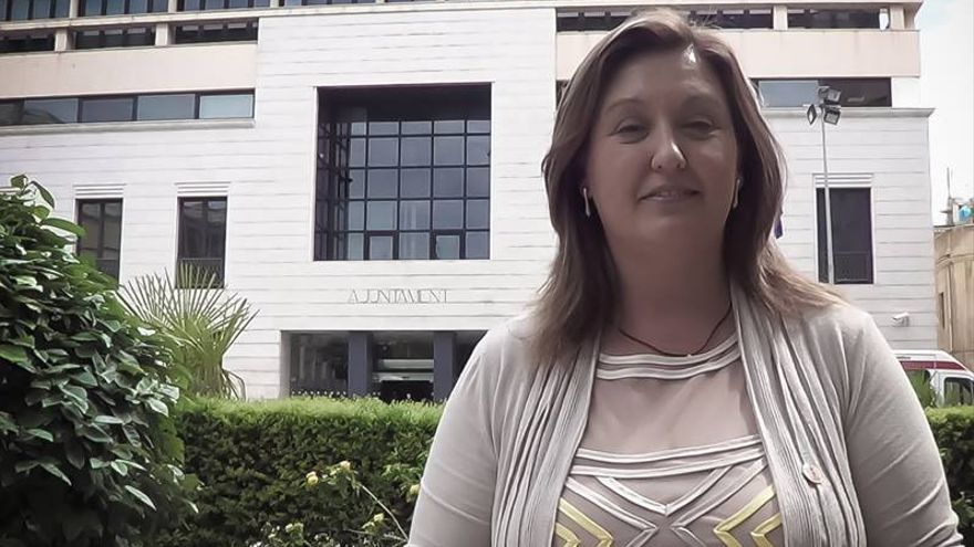 La portavoz de CIBUR (Ciudadanos de Burriana), Mariola Aguilella.