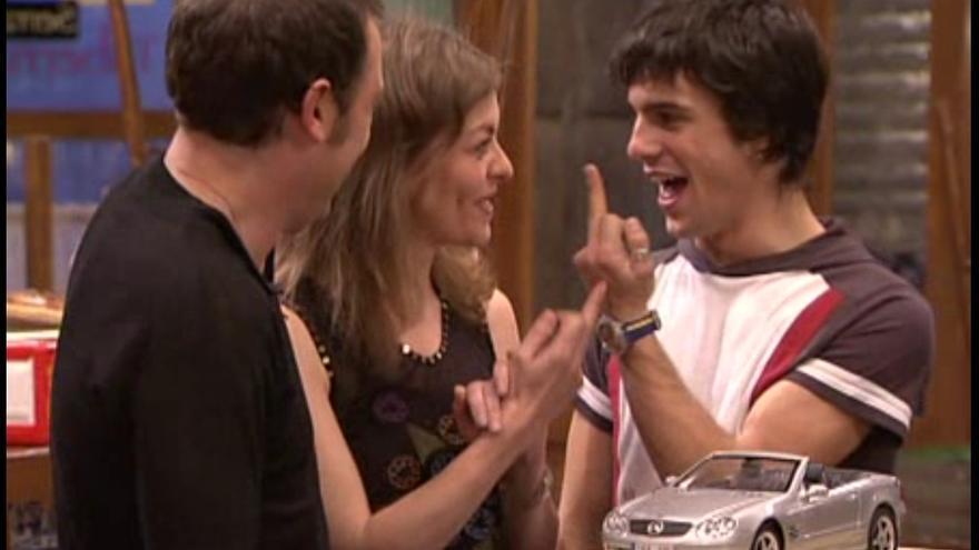 Momento del capítulo de Los Serrano que enfadó a Caja Madrid