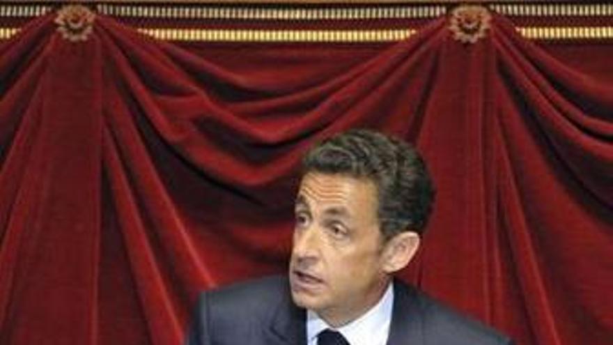 El presidente francés, Sarkozy