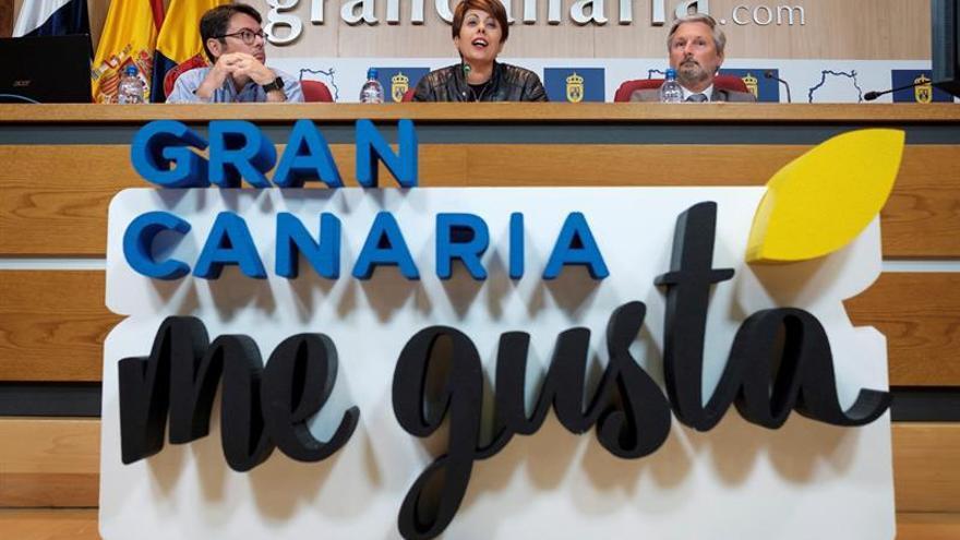 Presentación de la primera participación del programa 'Gran Canaria Me Gusta' el Salón Internacional Alimentaria de Barcelona.