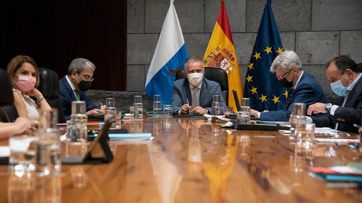 Reunión del Consejo de Gobierno de este jueves, 22 de julio