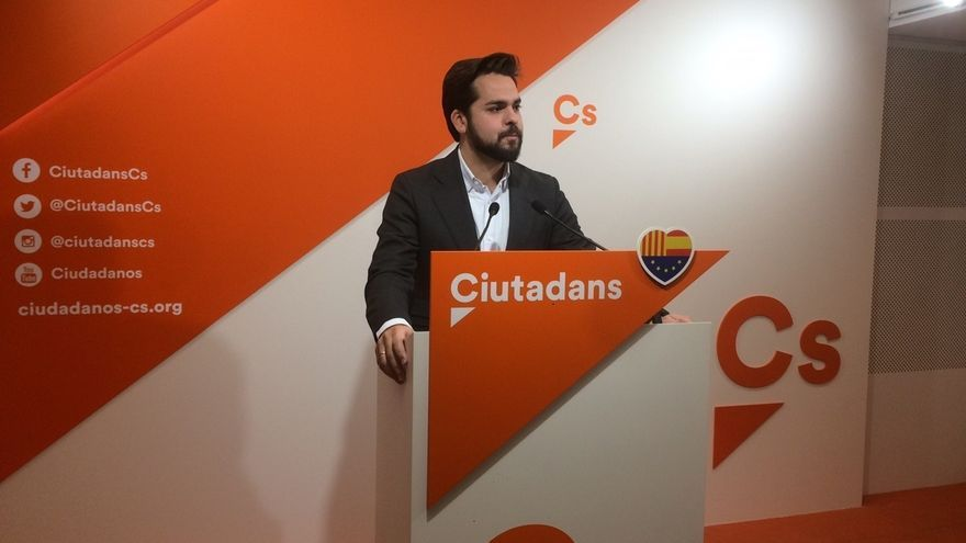 """Cs enviará un escrito a la Junta Electoral para que TV3 deje de ser """"Telepuigdemont"""""""