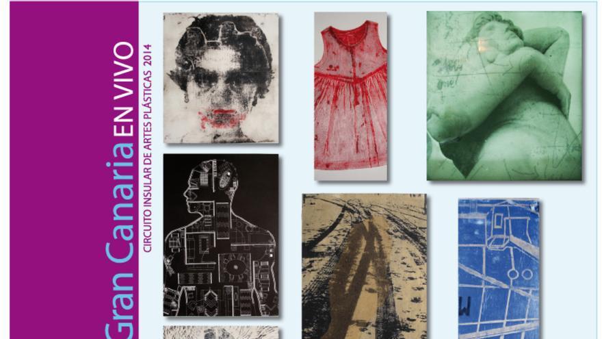 Cartel de exposición de grabados