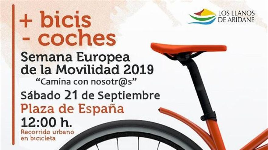 Cartel de la Semana de la Movilidad.