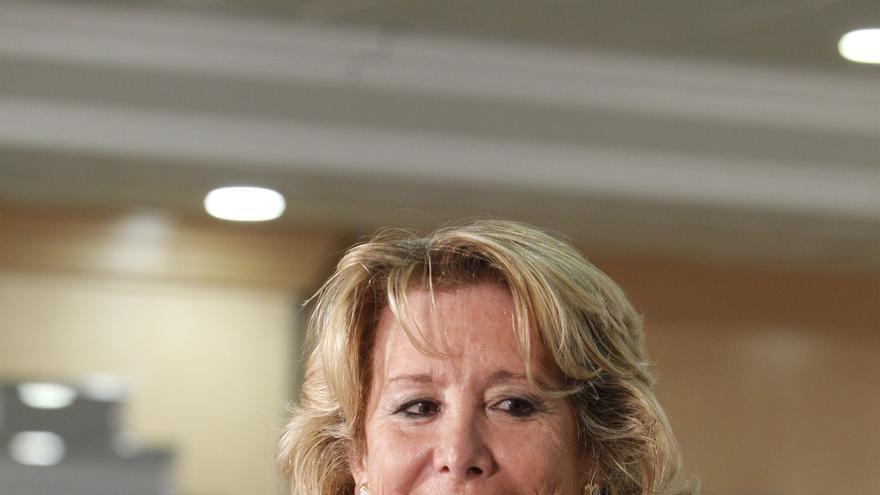 """Aguirre carga contra Bruselas por el premio a la PAH y muestra su """"indignación"""" por su lejanía con los ciudadanos"""