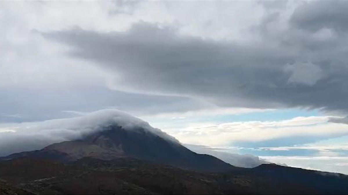 Nubes en Tenerife