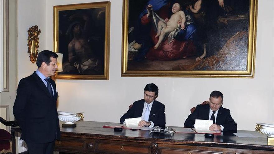 El Instituto Cervantes de Roma firma un acuerdo con la Orden de Malta
