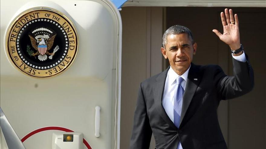Obama llega a San Petersburgo para participar en la cumbre del G20