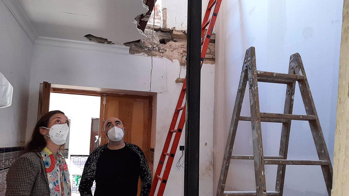 Rehabilitación de una vivienda en Fernán Núñez.