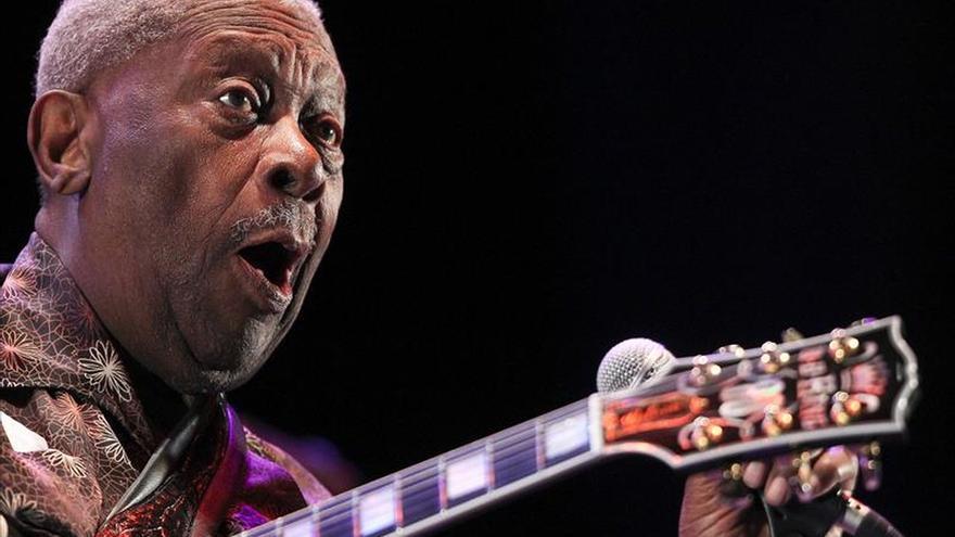 """Muere a los 89 años B.B. King, """"el rey del blues"""""""