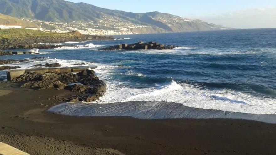 Imagen de archivo de la playa de Los Cancajos, en Breña Baja.