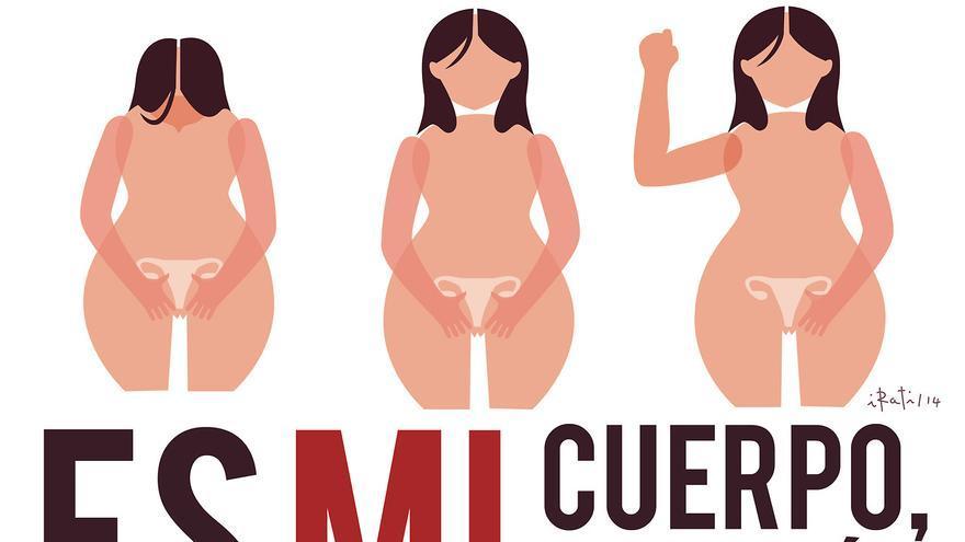 Cartel en contra de la reforma de la ley del aborto de Irati F. G