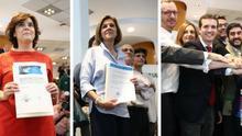 Los candidatos del PP ultiman sus campañas con el objetivo de recorrer todas las comunidades en 12 días