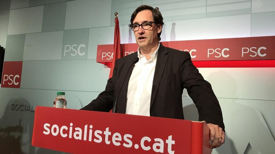 """El PSC descarta un frente con PP y Cs: """"Se entendería que ellos sí fueran juntos"""""""