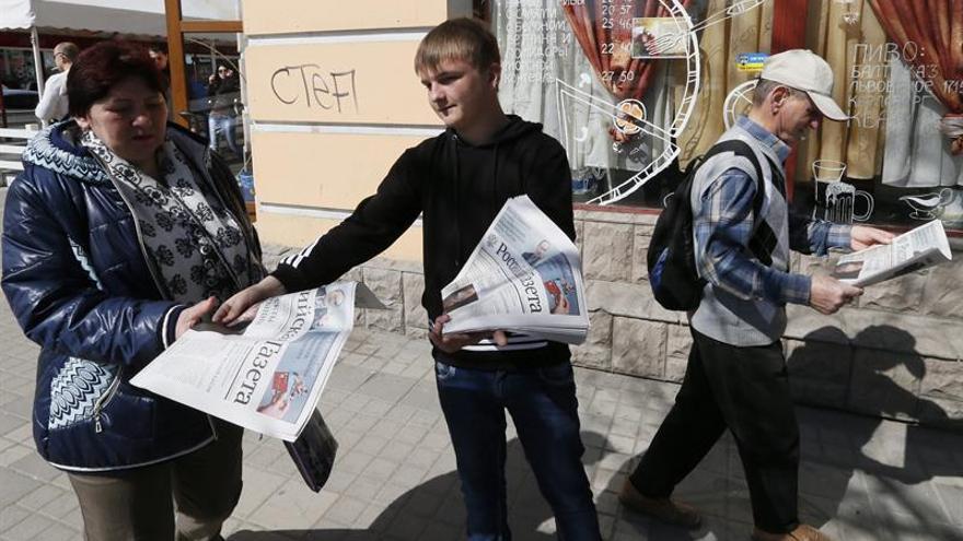 El periódico ruso Novye Izvestia deja de salir en papel