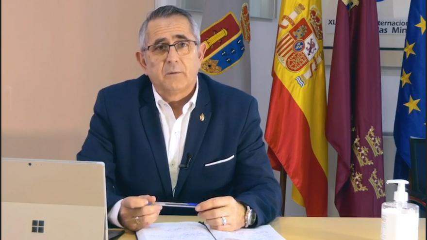 El alcalde socialista de La Unión, Pedro López