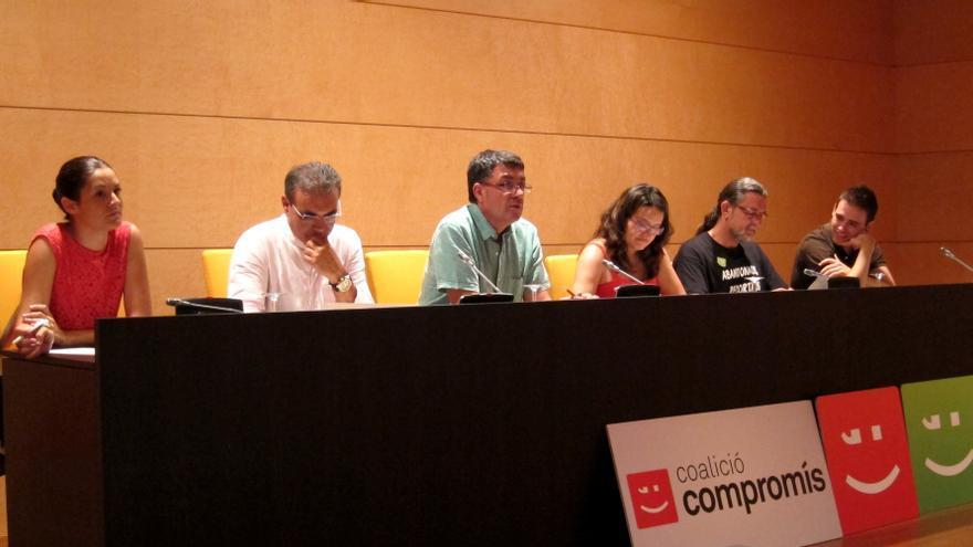 Compromís registra su enmienda a la totalidad al proyecto de presupuestos de la Generalitat valenciana para 2014