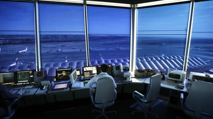 Enaire gestionó más de 144.000 vuelos en enero, un 7,7 % más
