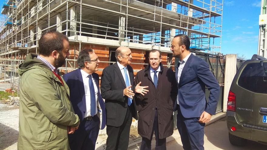 Avanza a buen ritmo la construcción de las 22 VPO de Campuzano, que se destinarán a alquiler