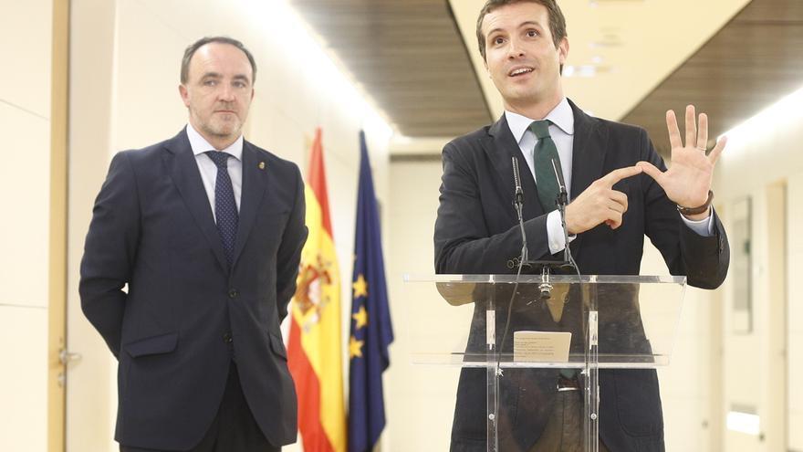 """Casado acusa al Gobierno de """"retorcer"""" los datos de paro, pues es el """"peor mes de junio desde 2009"""""""