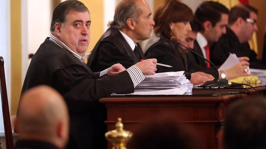 Evaristo González, en una de las sesiones del juicio del llamado caso Corredor