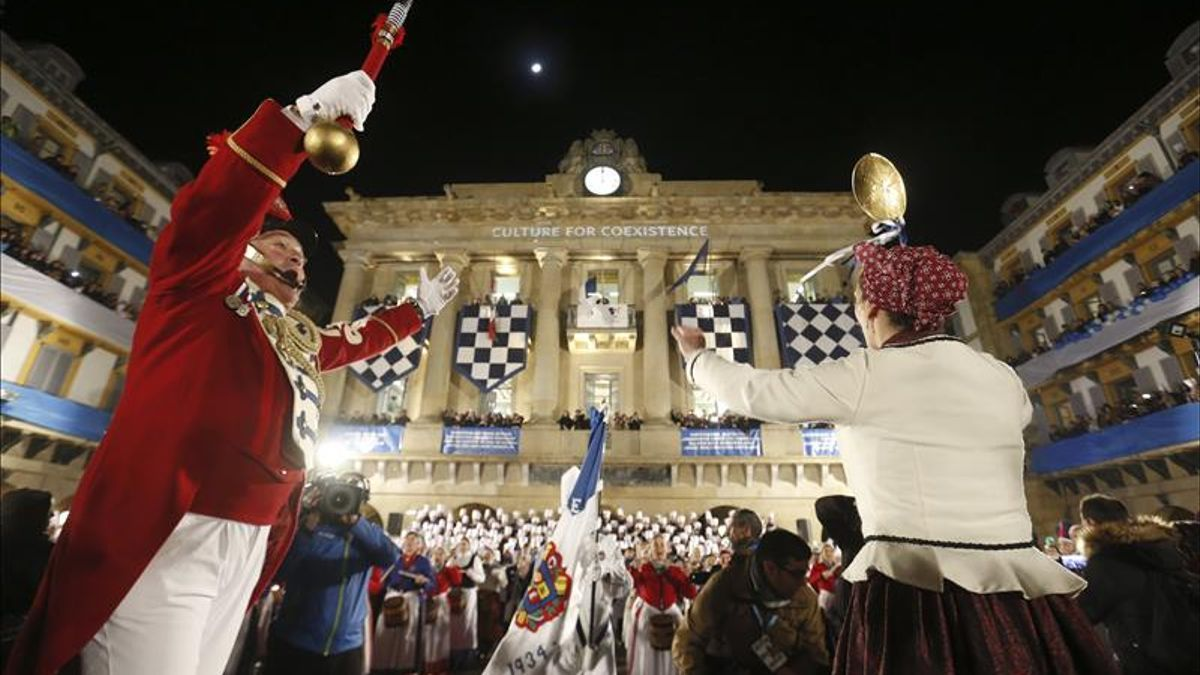 Tamborrada San Sebastián en la edición de 2016