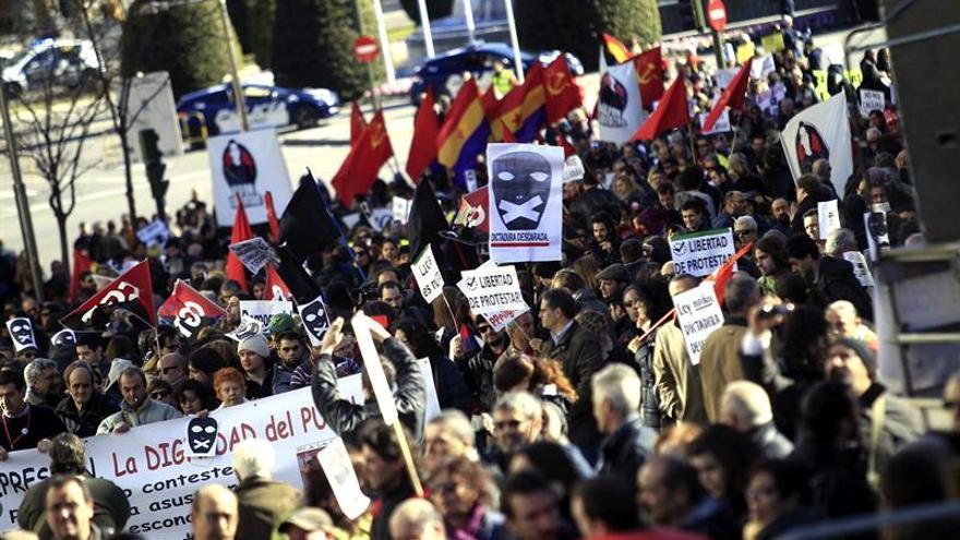 Convocan a manifestarse contra la ley mordaza en varias ciudades el sábado