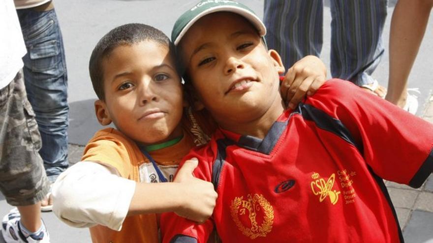 De la llegada de niños saharauis #4