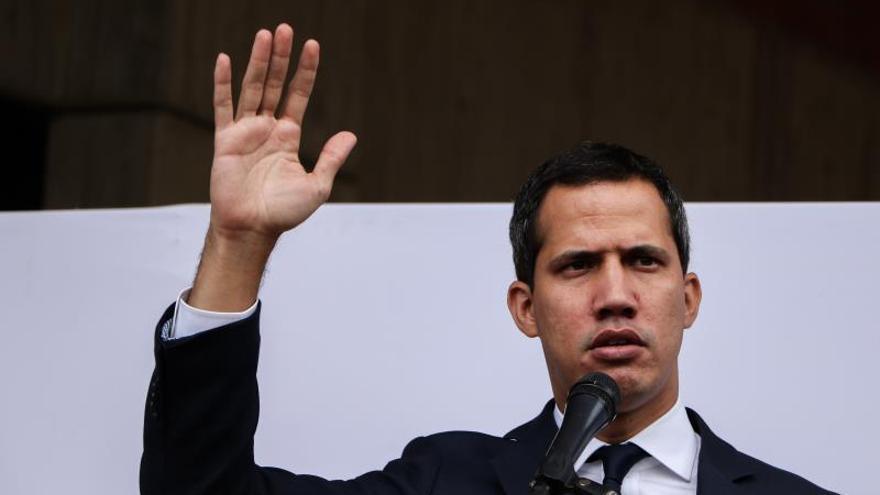 El líder de la Asamblea Nacional venezolana, Juan Guaidó.