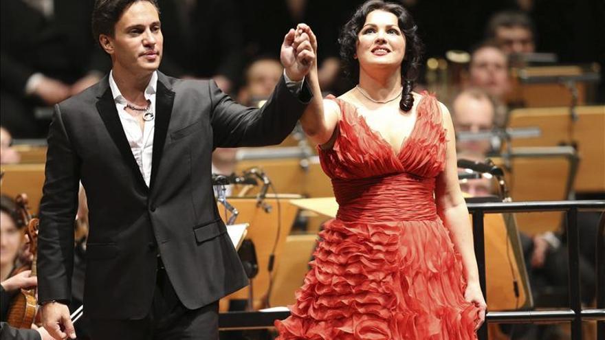 Se separan la soprano rusa Anna Netrebko y el barítono uruguayo Erwin Schrott