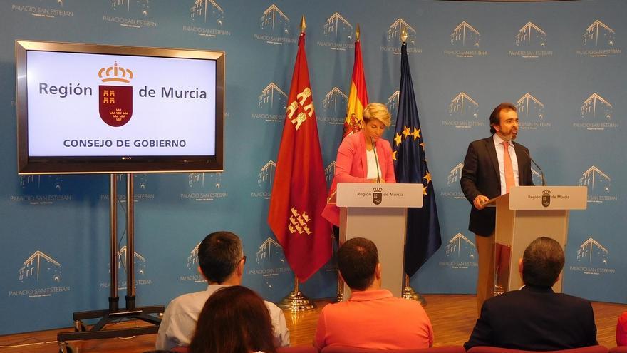 """El Gobierno regional ratifica las medidas para """"soterrar absolutamente todas las vías"""" del tren a su paso por Murcia"""