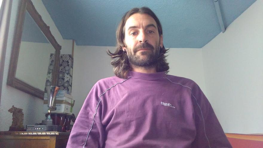 El portavoz de Sodepaz en Navarra y Euskadi, Xabier Aguirregabiria.