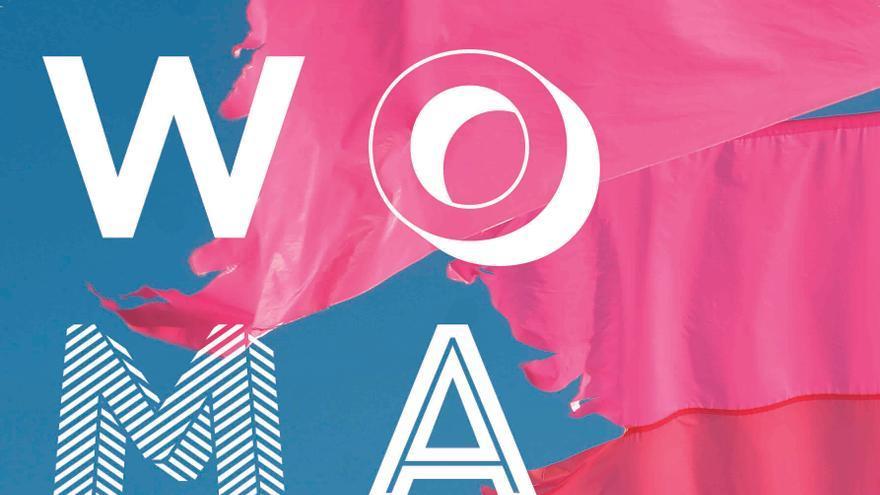 Cartel gráfico de la segunda edición del Womad de Fuerteventura firmado por Marc Bessant.