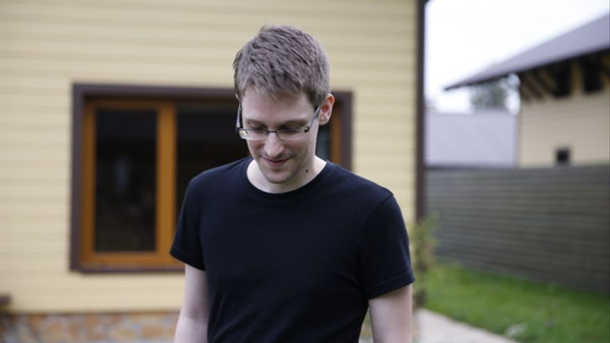 Edward Snowden en Citizenfour, el documental de Laura Poitras