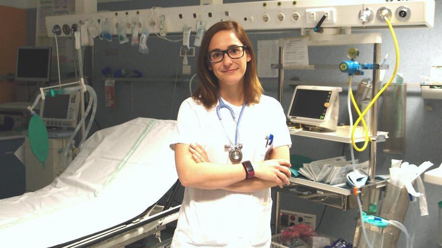La doctora Irene Moreno / SESCAM