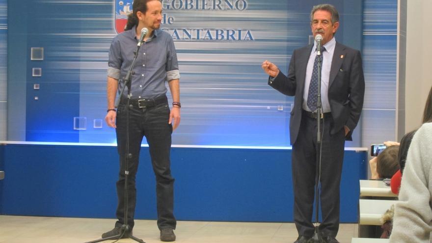 """Revilla es """"libre"""" para reunirse con Iglesias: """"En el PSOE ni me han dicho nada ni se atreverán a decirme"""""""