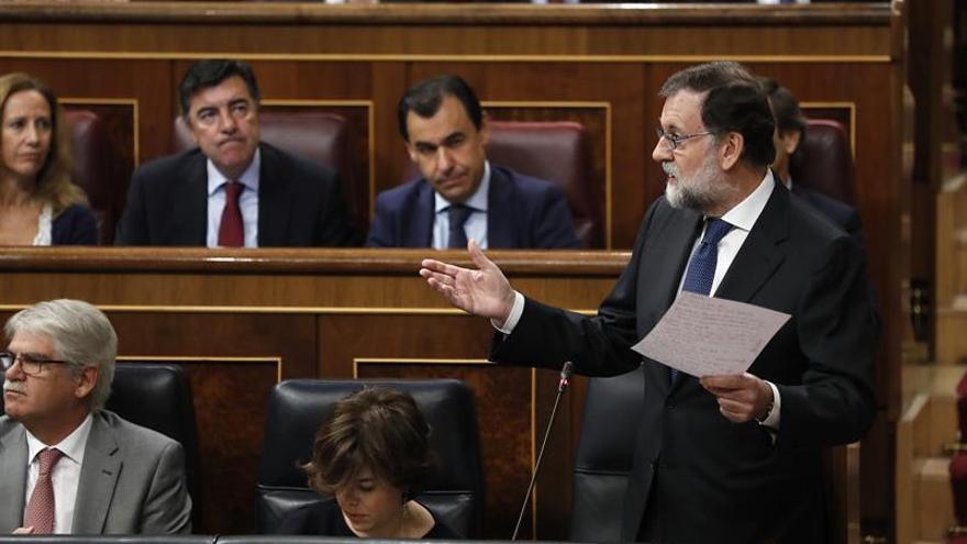 """Rajoy apela a una """"participación masiva"""" el 21D para abrir una nueva etapa"""