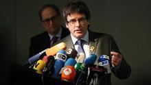 Puigdemont, con Quim Torra en Berlín