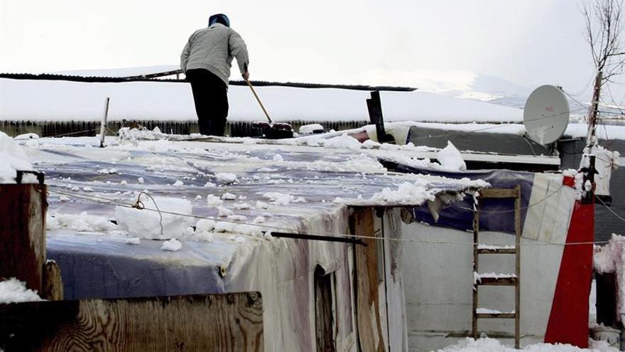La ONU prepara un plan de apoyo para los refugiados sirios en el Líbano este invierno