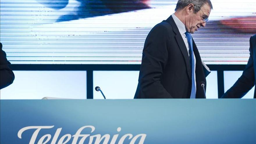 Telefónica gana el 9,4 % menos hasta septiembre lastrada por el tipo de cambio