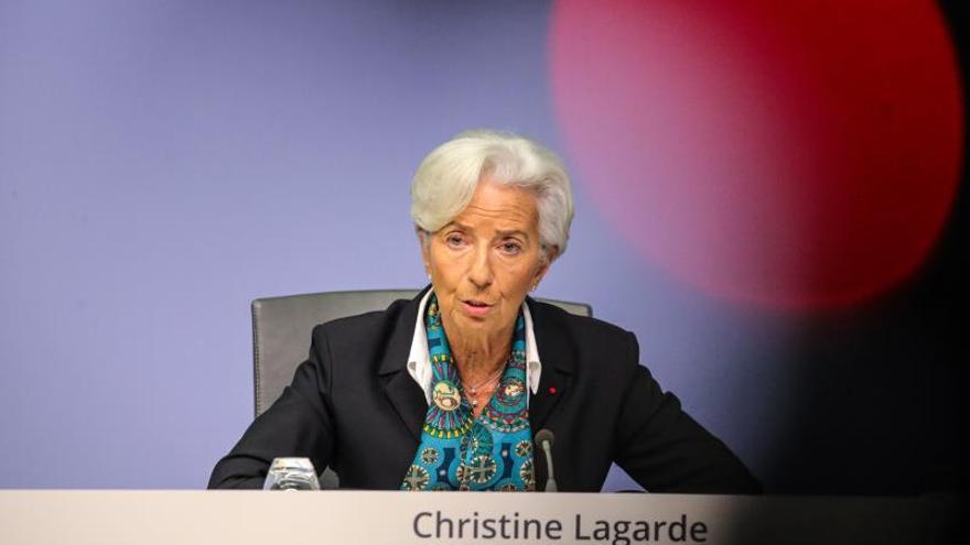presidenta del Banco Central Europeo (BCE), Christine Lagarde.