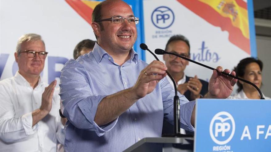 El PP de Murcia presume de fortaleza electoral y de los mejores resultados de España