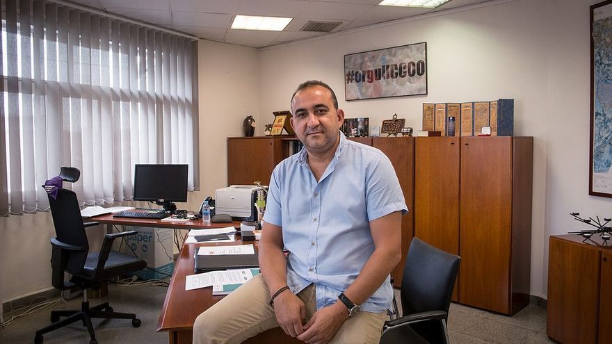 Javier Pacheco, secretario general de las CCOO de Catalunya