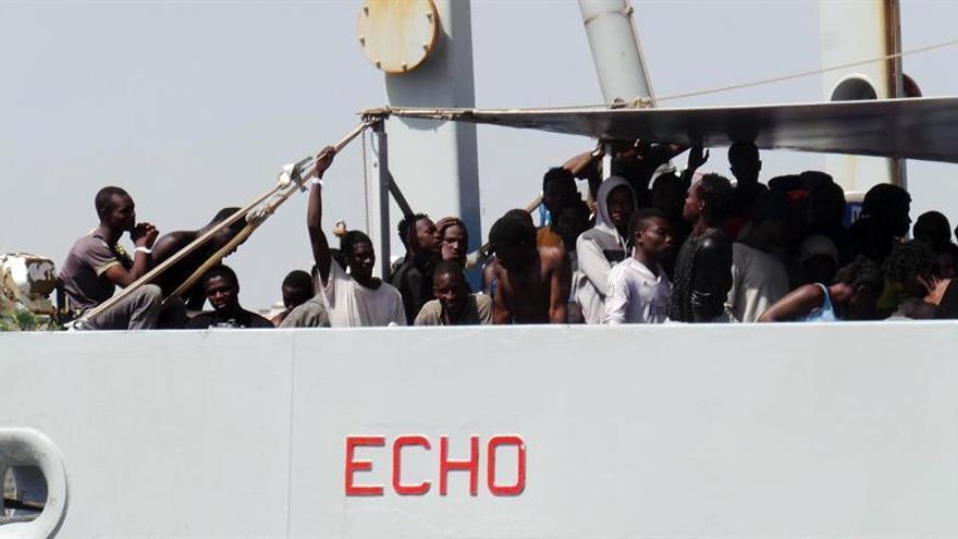 Unicef critica las normas propuestas por Italia para las ONG que ayudan a inmigrantes