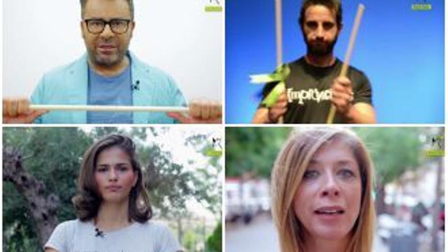 Jorge Javier, Dani Rovira y otros televisivos contra el Toro de la Vega