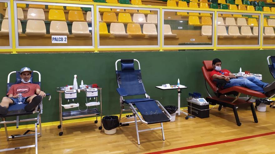 Donantes de sangre.