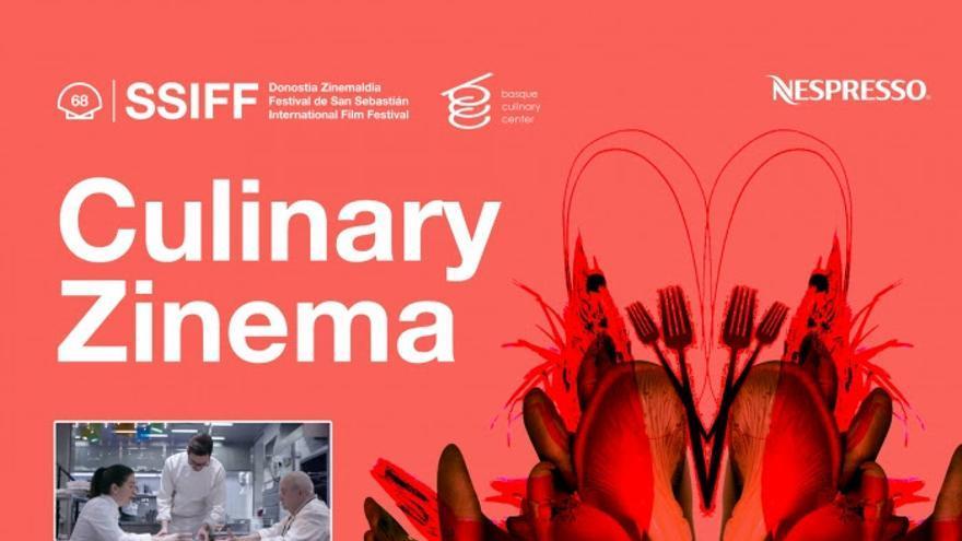 Cuatro cenas temáticas a cargo de reconocidos chef acompañarán el Culinary Zinema en el próximo Festival de Cine de San Sebastián
